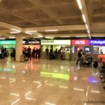 Palma airport car hire check in booths