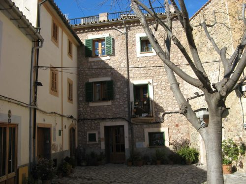 A small courtyard in Bunyola Majorca