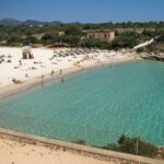 Cala Marcal beach in Porto Colom Majorca