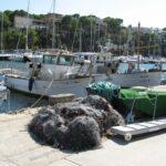 Fishing boats and nets at Porto Cristo 01