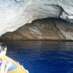 Inside the Blue Cave at Cabrera