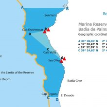 Palma bay marine reserve map