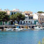 Private boat mooring facilities at Porto Colom Majorca