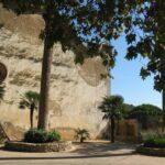 The gatehouse at Alfabia gardens Majorca