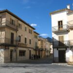 The streets of Bunyola Majorca