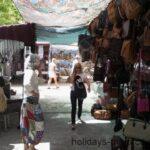 A bag stallat Sineu market Majorca