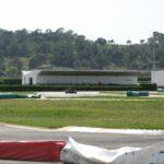 A kart racing on the Magaluf track Majorca