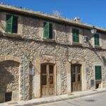 A street fronted house in Calvia Majorca