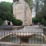 A water fountain at Santo Domingo's Pollensa Majorca