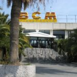 BCM nightclub from the road in Magaluf Majorca