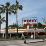 Benny Hill bar in Magaluf Majorca