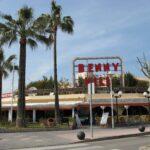 Benny Hill bar in Magaluf Majorca