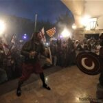 Christians and Moors battle in Soller Majorca