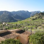 Country houses on the outskirts of Bunyola Majorca
