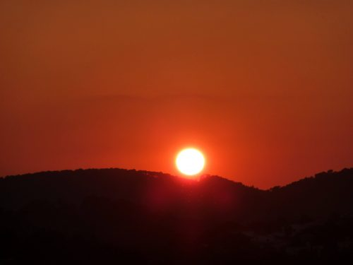 Day out pics Majorca sunset