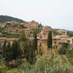 Deia's terraced houses in Majorca