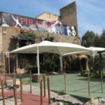 Entrace to the Pirates Show in Magaluf Majorca
