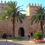 Entrace to the old city at Alcudia Majorca