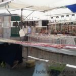 Jewellery stall at Inca market Majorca