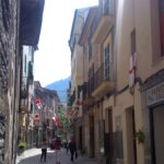 Luna Street during the Chistians and Moors festival in Soller Majorca