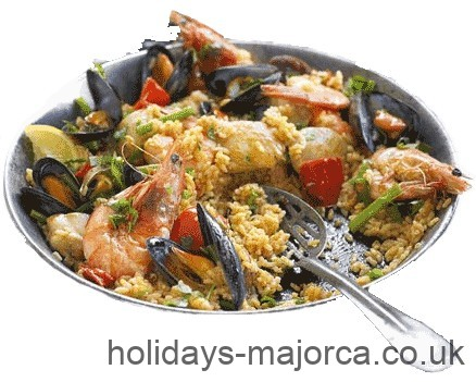 Majorca stlye Spanish Paella