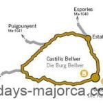 Majorca Cycling route 10 from Palma to Establiments
