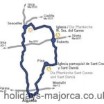 Majorca Cycling Route 2 – Algaida and Surroundings