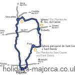 Majorca Cycling Route 2 - Algaida and Surroundings