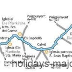 Majorca Cycling Route 8 from Palma to Sant Elm