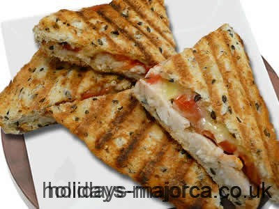 Majorcan toasted sandwiches