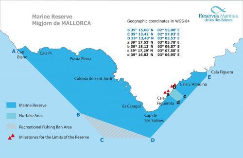 Migjorn Marine Reserve Majorca