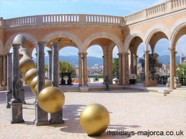 Art at the March Palace (Palacio March) Palma de Mallorca