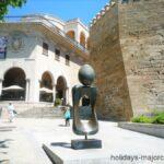 Figure Art at the March Palace (Palacio March) Palma de Mallorca