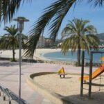 Palma Nova beach and play park