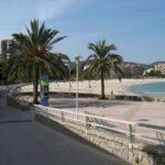 Palma Nova beach and promenade Majorca