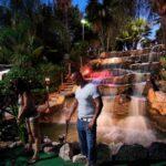 Playing a round at Golf Fantasia in Palma Nova Majorca