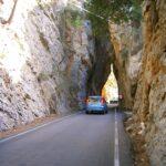 Road down to Torrent de Pareis Majorca