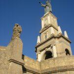 Sant Salvador statue monument Felanitx Majorca