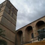 Santa Maria church in Sineu Majorca