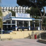 The Blue Bar in Palma Nova Majorca