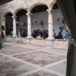 The Santo Domingo's Cloisters at the Pollensa wine fair Majorca