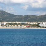 The beach at Santa Ponsa Majorca