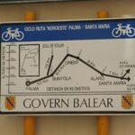 The full Palma to Santa Maria cycling route