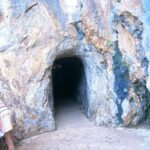 The tunnel down to the Torrent de Pareis in Majorca