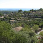 View from the church at Galilea Majorca