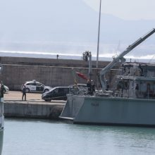 Spanish Navy Neptuno-alcudia in Alcudia port