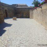 Internal walls San Carlos castle