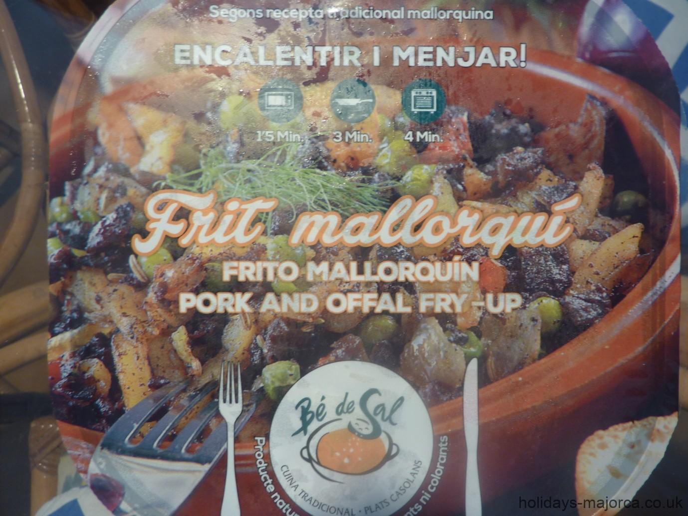 Dare You Try a Frito Mallorquin?