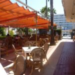 Ccales de Mallorca bar terrace